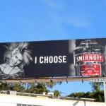 Креативная #reklama №1k54 — Билборд с рекламой водки Smirnoff : Я выбираю Smirnoff