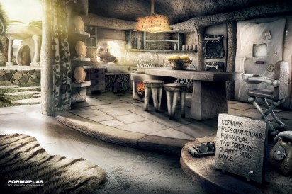 Кухня флинстонов