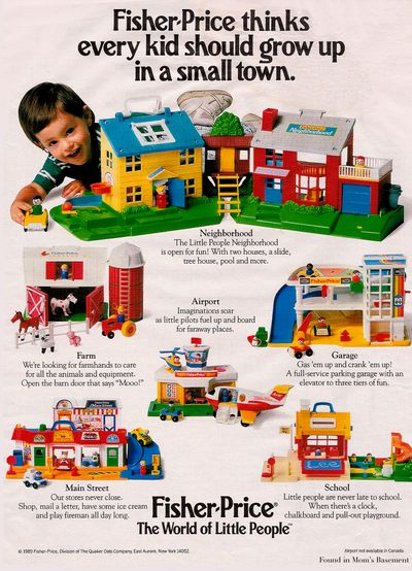 Реклама Fisher Price
