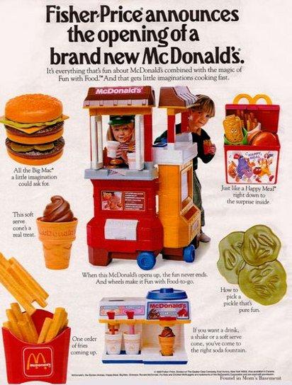 Реклама игрушек Fisher Price