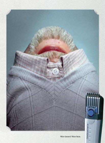 Триммер для бородки