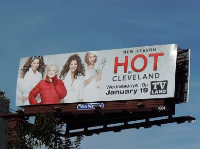 Билборд с рекламой ТВ-шоу