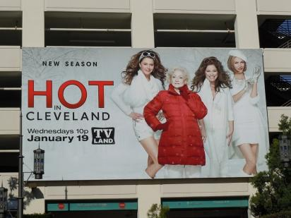 Реклама сериала Hot in Cleveland