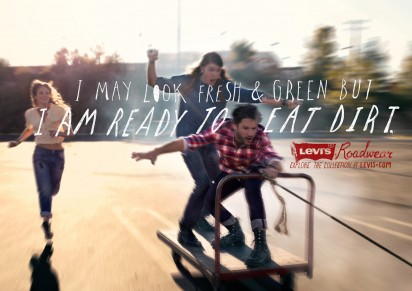 Реклама Levi Strauss
