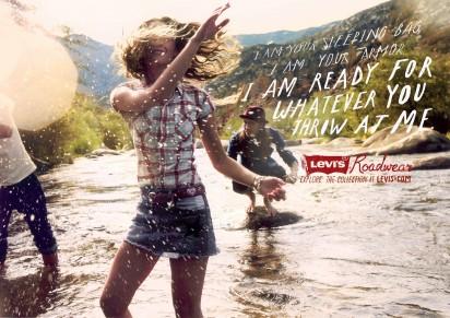 Молодёжная реклама Levis