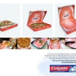Креативная #reklama №994 — Зубная паста Colgate Max Night в коробке пиццы