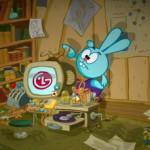 Скрытая реклама LG в мультфильме «Смешарики»