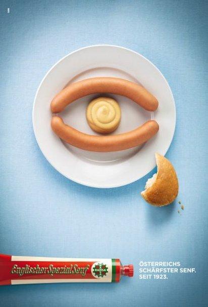 Реклама горчицы