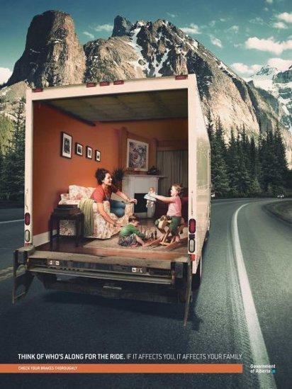 Реклама безопасных перевозок