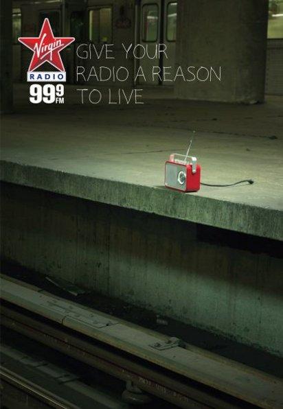 Реклама радио Virgin