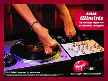 Креативная реклама Virgin