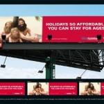 Креативная #reklama №1k41 — Virgin Blue: Праздники такие доступный, что хочется остаться навечно