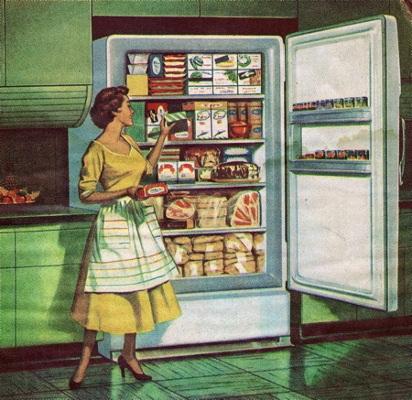 Громадный холодильник