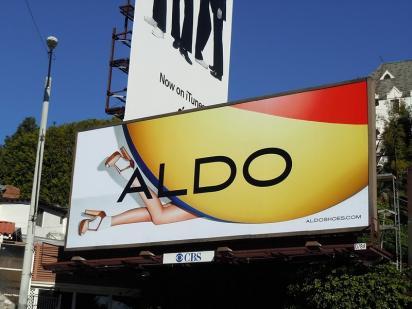 Билборд ALDO