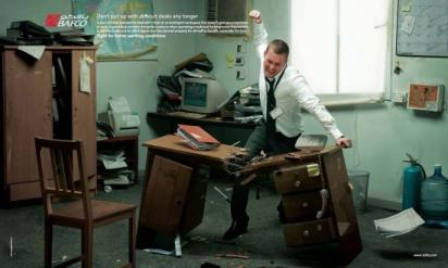 Реклама мебели для офиса