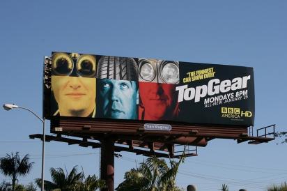 Билборд TopGear