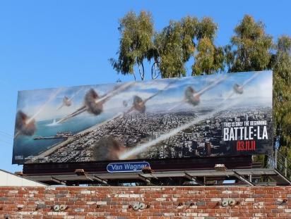 Билборд Battle: LA