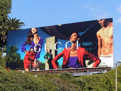Гламурный билборд 2011