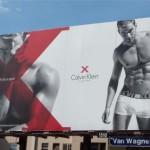 Креативная #reklama №1k63 — Мужское белье Calvin Klein X