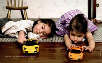 Реклама  Lamborghini