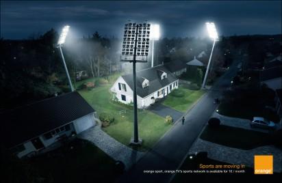 Реклама спортивного канала