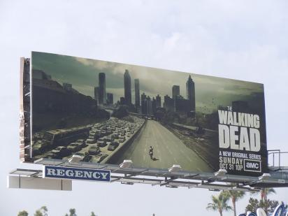 Билборд Ходячие мертвецы