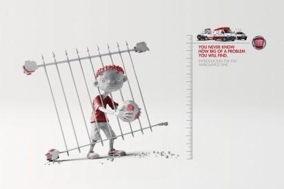 Креативная реклама Fiat