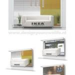 Креативная #reklama №1k197 — Динамичный билборд IKEA