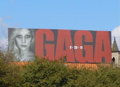 Билборд Gaga