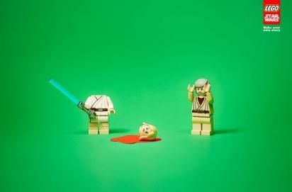 Креативная реклама Лего