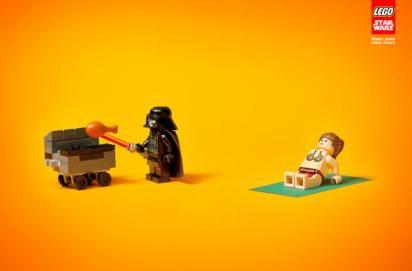 Реклама конструктора Лего