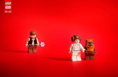 Реклама Lego StarWars