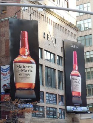Два билборда makers mark