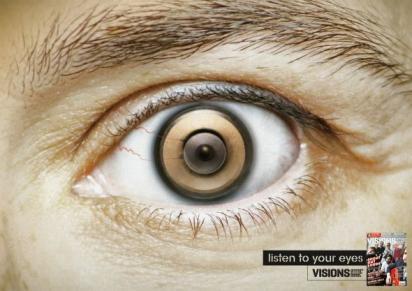 Реклама журнала о музыке