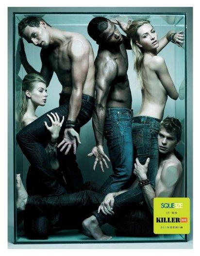 Сексуальная реклама джинс Killer