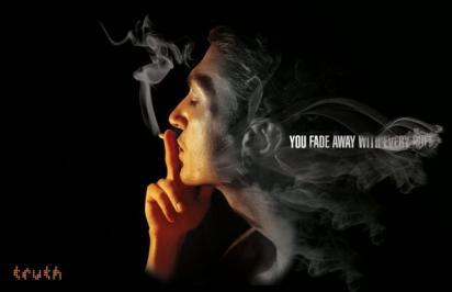 Реклама против сигарет