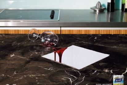 Реклама кухонных полотенец