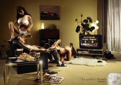 Сексуальная реклама для мужчин