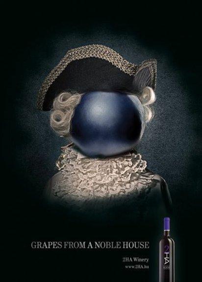 Реклама благородных вин