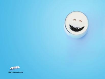 Реклама печенья Oreo