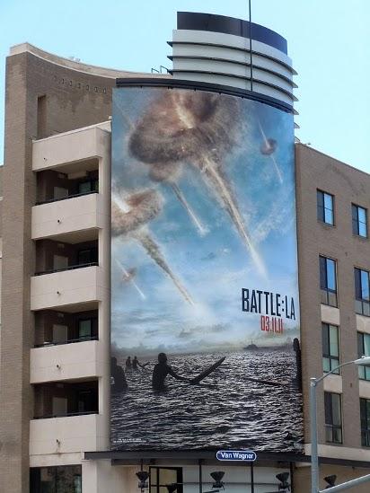 Билборд Инопланетное вторжение: Битва за Лос-Анджелес