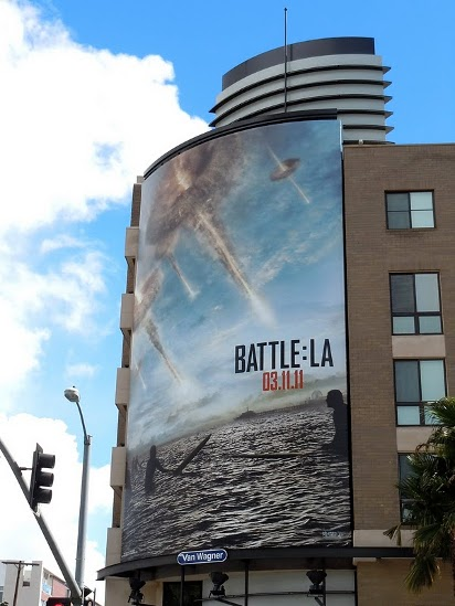 Билборд BattleLA