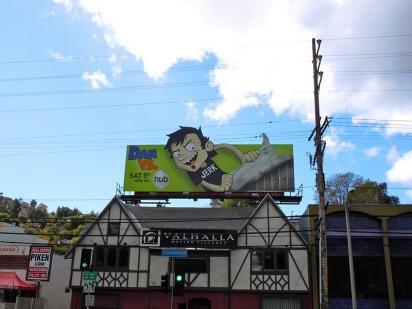 Рекламный щит Jerk vs Dan