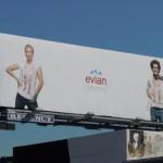 Забавные билборды минеральной воды Evian