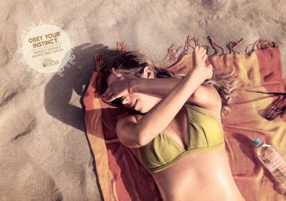 Реклама против рака кожи