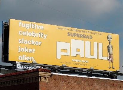 """Билборд """"Пол: Секретный материальчик"""""""