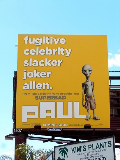 Билборд Инопланетянин по имени Пол