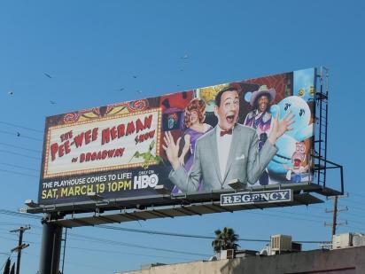 Билборд Pee-wee Herman