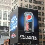 Креативная #reklama №1k314 — Билборды диетической Pepsi Max