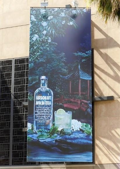 Рекламный щит с водкой